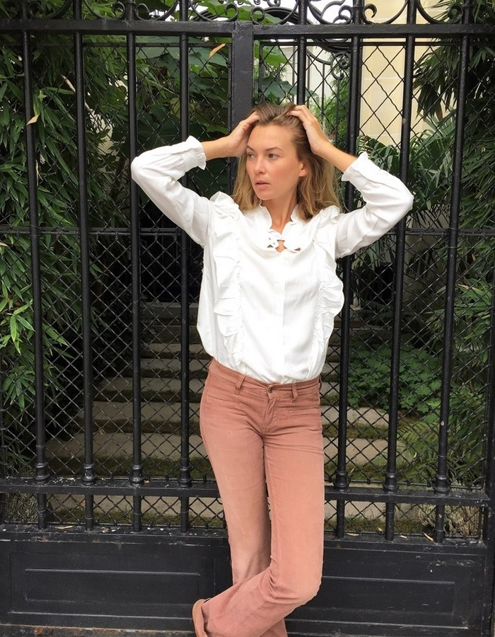 Blouse blanche STACY