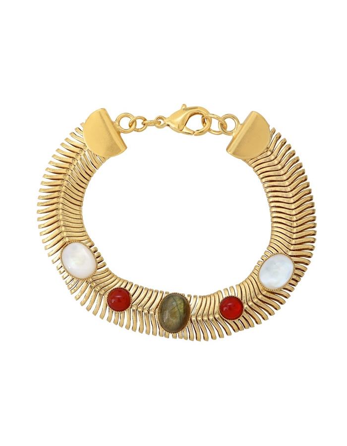 LOUISE snake mesh bracelet