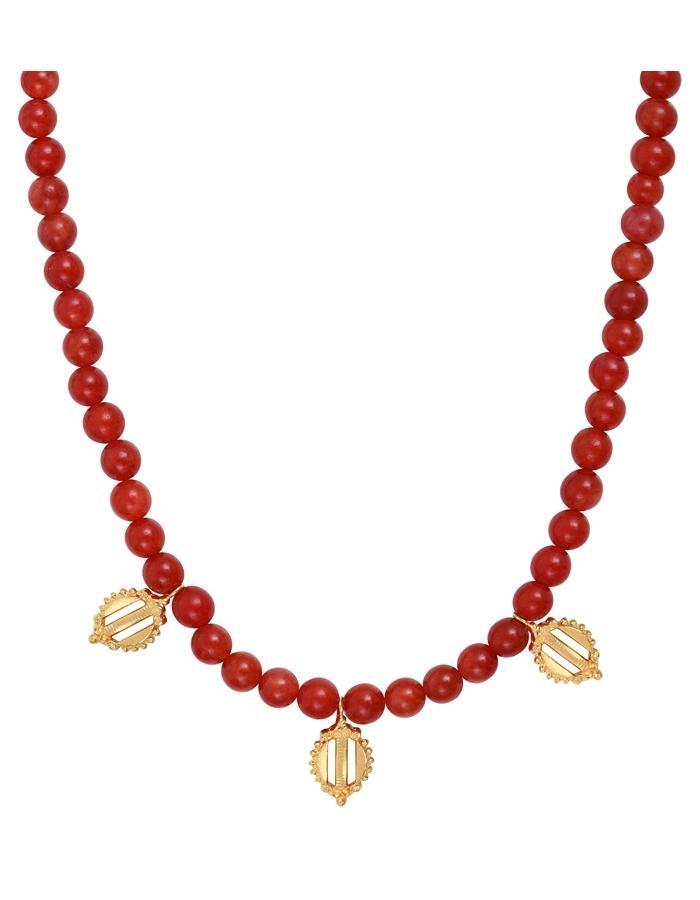 DONATELLO cornaline pendants necklace