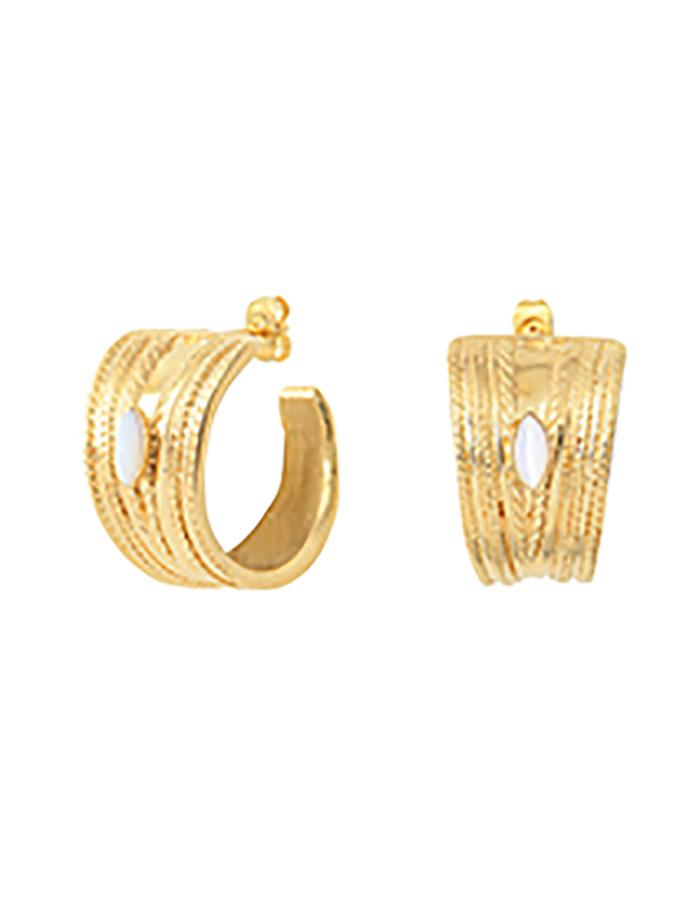 LOUISE creoles earrings