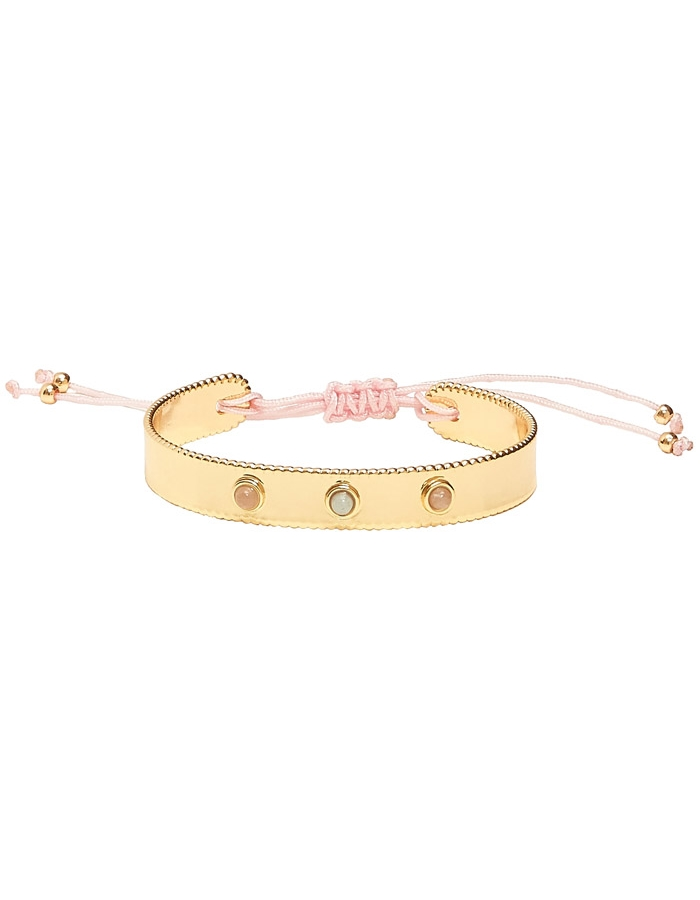 TARTINE & CHOCOLAT child 3 stones bracelet